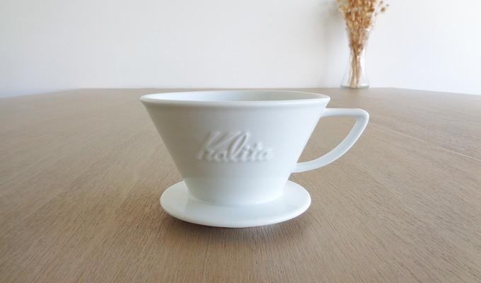 カリタ 波佐見焼 ウェーブドリッパー HA185 (2~4杯用) Kalita