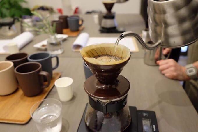 ロクメイコーヒー ワークショップのイメージ写真